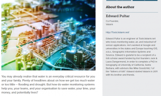 How Industrial IoT sensors are used to monitor water levels and flood warning systems: A guide
